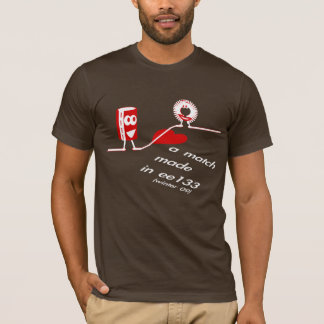 Camiseta A EE 133 ganha 09 homens