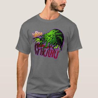Camiseta A elevação de Cthulhu no tecnicolor!