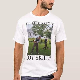 Camiseta A elite dos jogadores de golfe