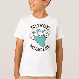 Camiseta A enfermeira dos miúdos Muscles a camisa!