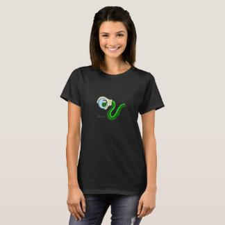 Camiseta A enguia de mundo - pastor de fã