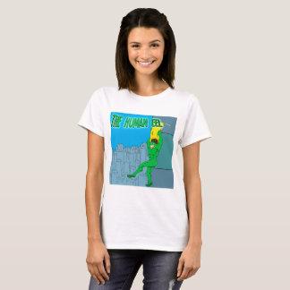 Camiseta A enguia humana