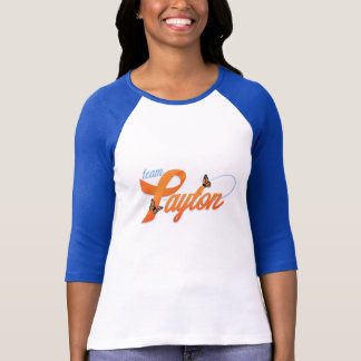 Camiseta A equipe de mulheres Payton 3/4 de t-shirt da luva