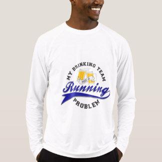 Camiseta A equipe do bebendo tem o Esporte-Tek Running LS
