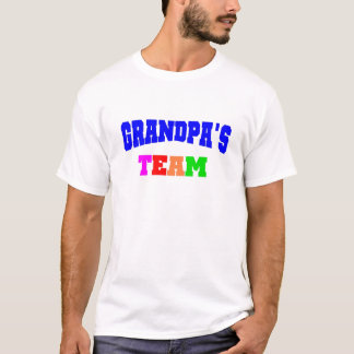 Camiseta A equipe do vovô