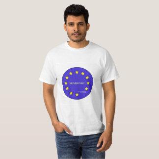 "Camiseta A ""equipe permanece"" t-shirt de Brexit"