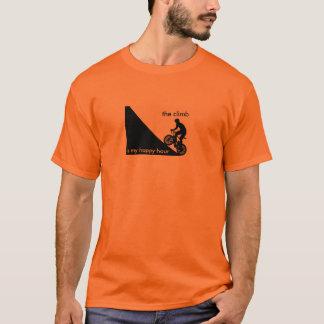 Camiseta A escalada é meu happy hour