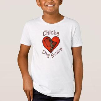 Camiseta A escavação dos pintinhos Scars o t-shirt