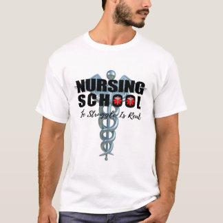 Camiseta A escola de cuidados o esforço é real