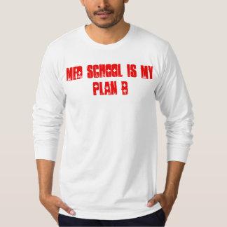 Camiseta A escola do MED É meu T longo da luva do plano B