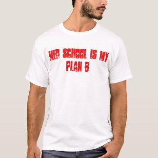 Camiseta A escola do MED É meu t-shirt do plano B