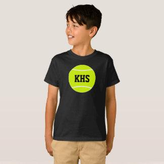 Camiseta A escola feita sob encomenda do jogador de ténis