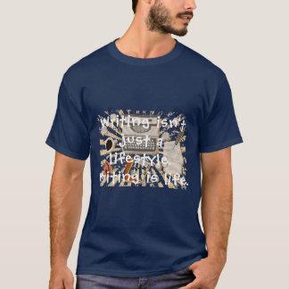 Camiseta A escrita é vida