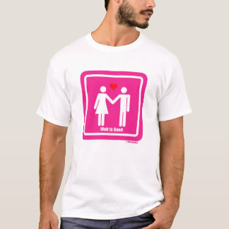 Camiseta A espera é bom Special dos namorados