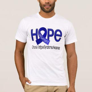 Camiseta A esperança importa síndrome crônica da fadiga de