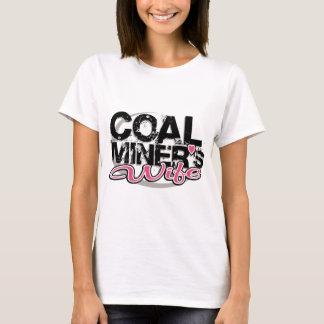 Camiseta a esposa de mineiro de carvão