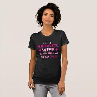 Camiseta A esposa do artista