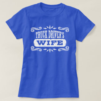 Camiseta A esposa do camionista