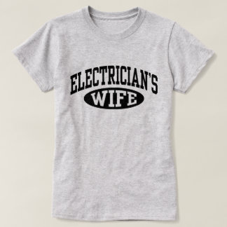 Camiseta A esposa do eletricista