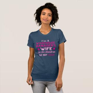 Camiseta A esposa do gerente do armazém