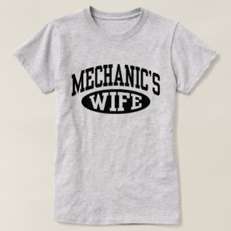 Camiseta A esposa do mecânico