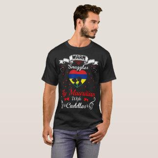 Camiseta A esposa maurícia dos Snuggles mornos afaga o T