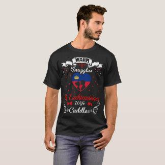 Camiseta A esposa morna de Liechtensteiner dos Snuggles