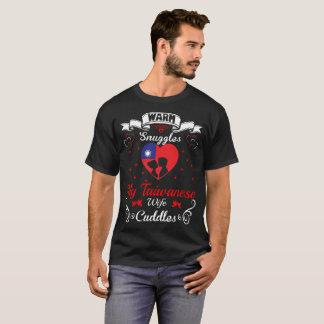 Camiseta A esposa taiwanesa dos Snuggles mornos afaga o T