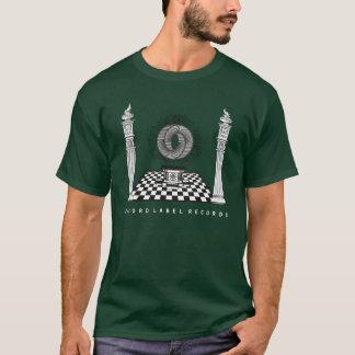 Camiseta A etiqueta gravada grava o t-shirt oficial
