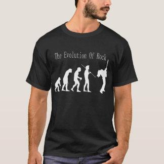 Camiseta A evolução do t-shirt da rocha