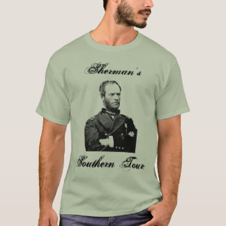 Camiseta A excursão do sul de Sherman