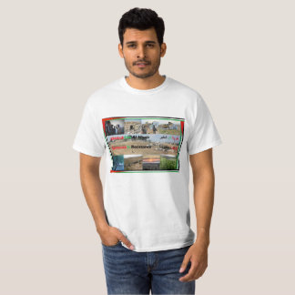 Camiseta A existência é t-shirt da resistência para Um o al