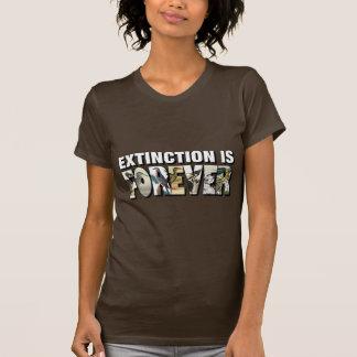 Camiseta A extinção é Forever