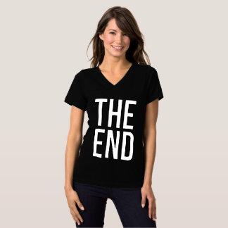 Camiseta A extremidade