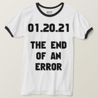 Camiseta A extremidade de um anti trunfo do erro