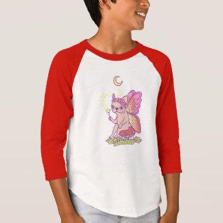 Camiseta A fada bonito de Frenchie está moldando um período