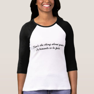 Camiseta A falha em nossa estrela-dor