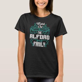 Camiseta A família de ALFORD. Aniversário do presente