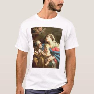 Camiseta A família santamente, século XVIII