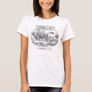 Camiseta A fazenda do Amy