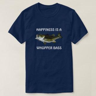 """Camiseta A """"felicidade engraçada é um baixo do Whopper """""""