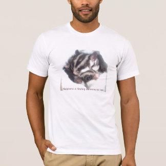Camiseta A felicidade está encontrando alguém para amar!