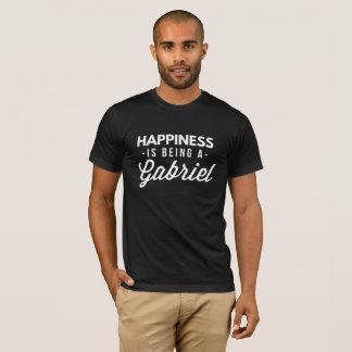 Camiseta A felicidade está sendo um Gabriel