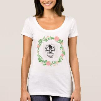 Camiseta A flor morre design