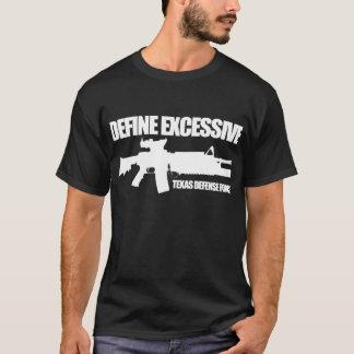 "Camiseta A força de defesa de Texas ""define"" a obscuridade"