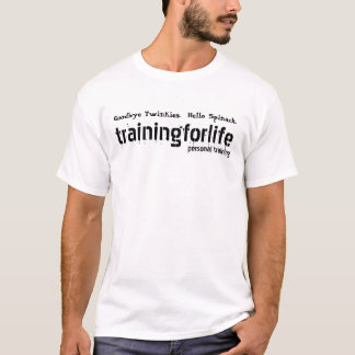 Camiseta a força de vontade para treinar