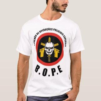 Camiseta A força policial do Special de BOPE Tropa De Elite