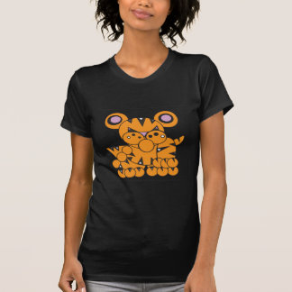 Camiseta A forma fez o tigre