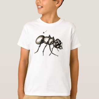 """Camiseta """"A formiga do guerreiro do mundo pequeno"""" caçoa o"""