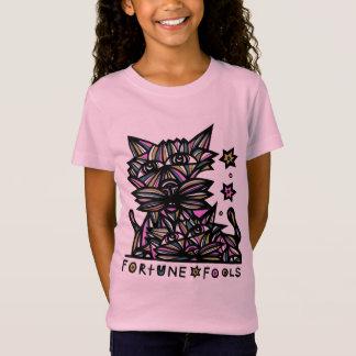 """Camiseta A """"fortuna engana"""" o t-shirt das meninas"""